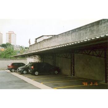 Cobertura para estacionamento em Água Funda