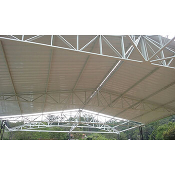 Fabricação de estrutura metálica para telhados em Nova Odessa